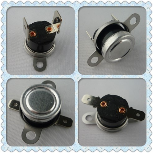 Auto KSD301 Bimetal Disc Snap Action Thermostats For Refrigerator , High Accuracy