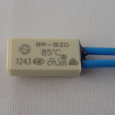 China Compact 250V 5A AC Thermal Protector , Bimetal Thermal Switch For Coils supplier