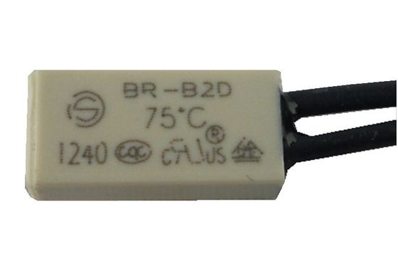 China BR-B2D AC Thermal Protector For Automotive Heating Pad , Bimetallic Disc Thermostats supplier