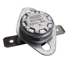 China Electrical Circuit Bimetal Disc Thermostat 16A For Rice Cooker Temperature Control supplier